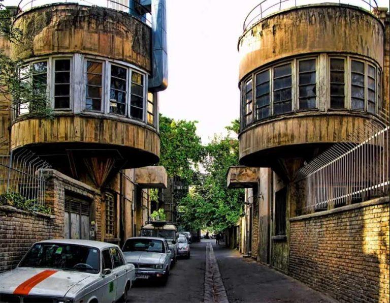 جاذبه های معماری تهران