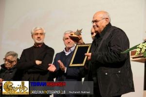 پیشکسوت عکاسی پرتره در جایزه تهران تقدیر